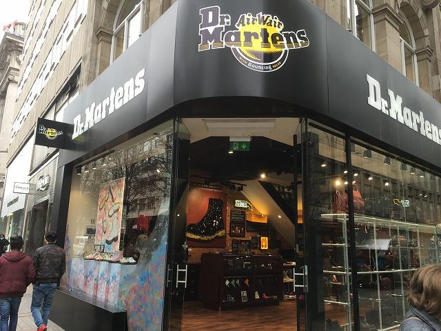 ドクターマーチン ロンドン  店舗