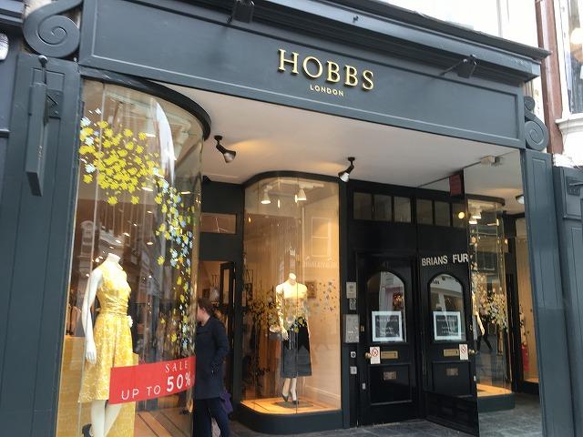Hobbs London 店舗 ロンドン