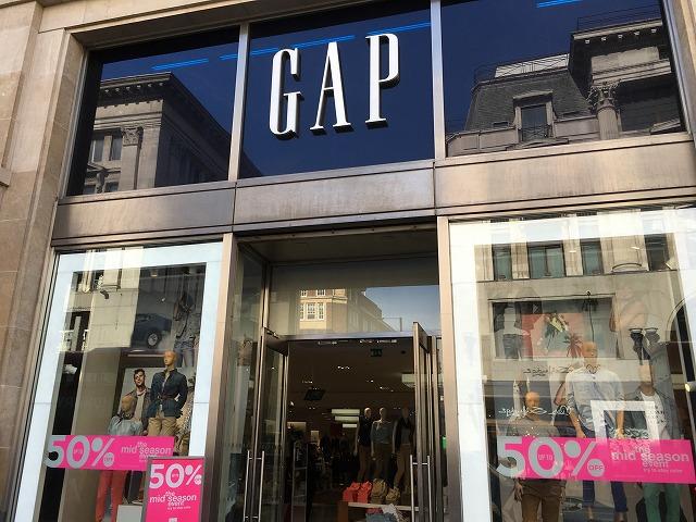 ロンドンのGAP 店舗