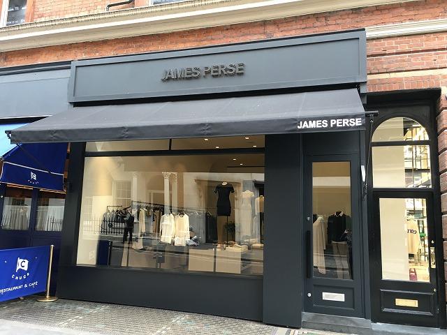 ジェームスパース JAMES PERSEの新作商品、入手困難なアイテム、日本未上陸品、激安品、限定品、お値打ち品、バーゲンセール品、個人輸入、海外通販、代行サービスをイギリスから EG代行