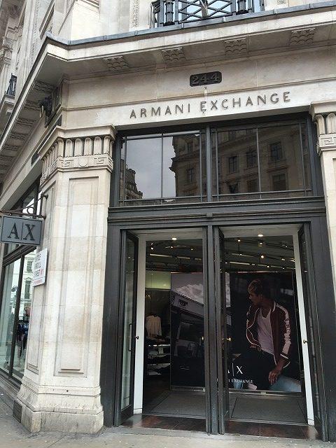 アルマーニエクスチェンジ ARMANI EXCHANGEの個人輸入、海外通販、代行サービスをイギリスから EG代行