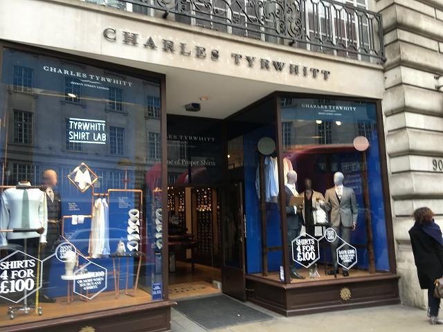 チャールズティリット CHARLES TYRWHITTの個人輸入、海外通販、代行サービスをイギリスから EG代行