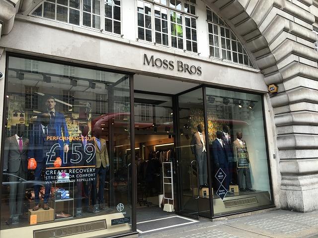 モスブラザーズ MOSS BROSの個人輸入、海外通販、代行サービスをイギリスから EG代行