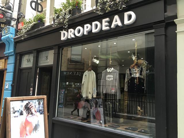 ドロップデッド DROPDEADの個人輸入、海外通販、代行サービスをイギリスから EG代行