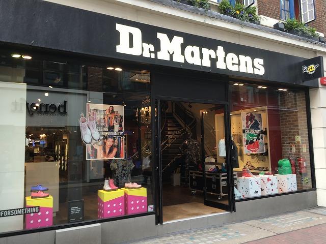 ドクターマーチン Dr.Martensの個人輸入、海外通販、代行サービスをイギリスから EG代行