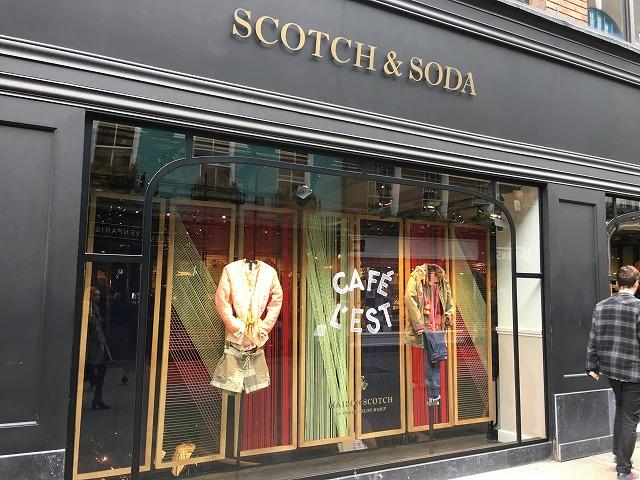 スコッチアンドソーダ SCOTCH&SODAの個人輸入、海外通販、代行サービスをイギリスから EG代行