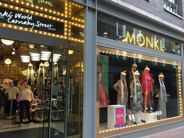 モンキ MONKIの個人輸入、海外通販、代行サービスをイギリスから EG代行