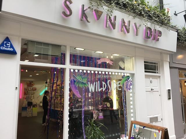 スキニーディップ SKINNY DIPの個人輸入、海外通販、代行サービスをイギリスから EG代行