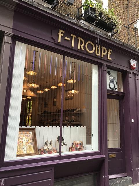 エフトゥループ F Troupeの個人輸入、海外通販、代行サービスをイギリスから EG代行