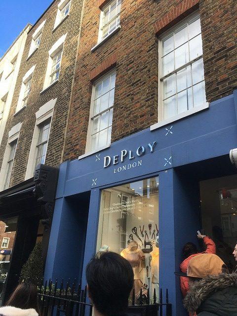 デプロイ DEPLOY LONDONの新作商品、入手困難なアイテム、日本未上陸品、激安品、限定品、お値打ち品、バーゲンセール品、個人輸入、海外通販、代行サービスをイギリスから EG代行