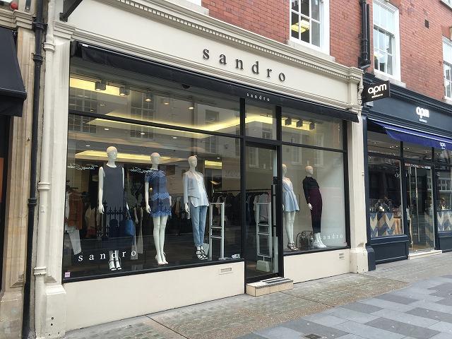 サンドロ sandroの新作商品、入手困難なアイテム、日本未上陸品、激安品、限定品、お値打ち品、バーゲンセール品、個人輸入、海外通販、代行サービスをイギリスから EG代行