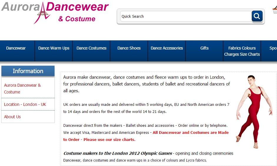 Aurora Dancewear オーロラダンスウェアの新作商品、入手困難なアイテム、日本未上陸品、激安品、限定品、お値打ち品、バーゲンセール品、個人輸入、海外通販、代行サービスをイギリスから EG代行