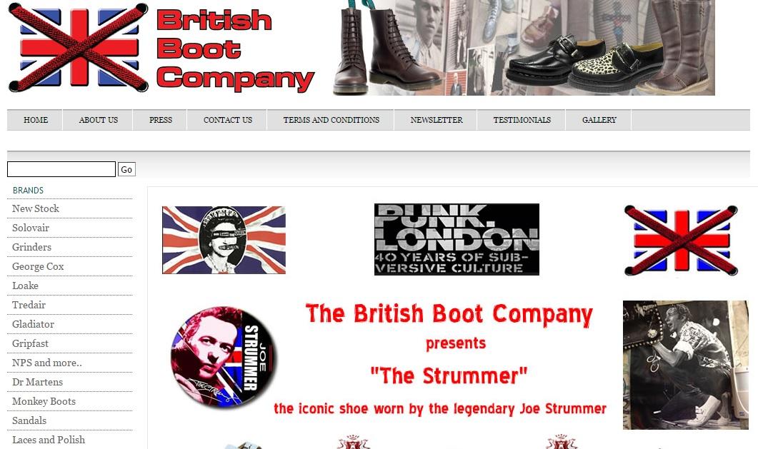 British Boot Company ブリティッシュブーツカンパニーの新作商品、入手困難なアイテム、日本未上陸品、激安品、限定品、お値打ち品、バーゲンセール品、個人輸入、海外通販、代行サービスをイギリスから EG代行