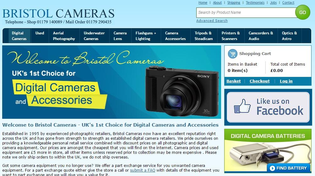 BRISTOL CAMERAS ブリストルカメラの新作商品、入手困難なアイテム、日本未上陸品、激安品、限定品、お値打ち品、バーゲンセール品、個人輸入、海外通販、代行サービスをイギリスから EG代行