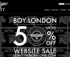 BOY LONDON ボーイロンドンの新作商品、入手困難なアイテム、日本未上陸品、激安品、限定品、お値打ち品、バーゲンセール品、個人輸入、海外通販、代行サービスをイギリスから EG代行