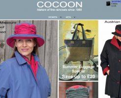 COCOON コクーンの新作商品、入手困難なアイテム、日本未上陸品、激安品、限定品、お値打ち品、バーゲンセール品、個人輸入、海外通販、代行サービスをイギリスから EG代行