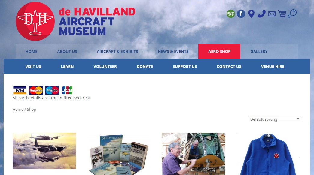 de HAVILLAND AIRCRAFT MUSEUM デ・ハヴィランド航空機博物館の新作商品、入手困難なアイテム、日本未上陸品、激安品、限定品、お値打ち品、バーゲンセール品、個人輸入、海外通販、代行サービスをイギリスから EG代行