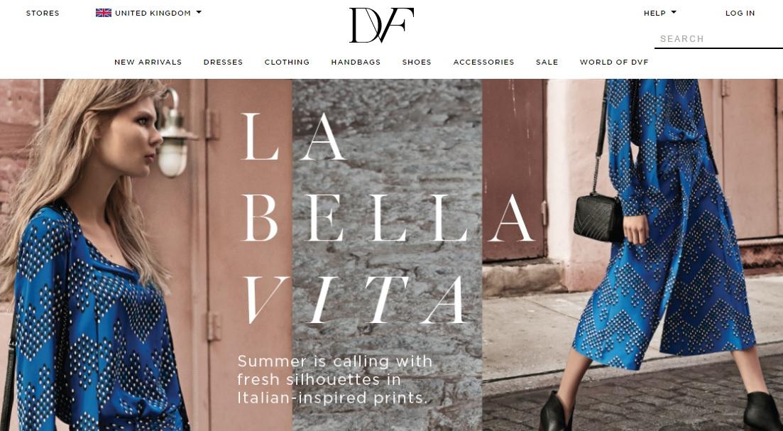 DVF Diane von Furstenberg ダイアンフォンファステンバーグの新作商品、入手困難なアイテム、日本未上陸品、激安品、限定品、お値打ち品、バーゲンセール品、個人輸入、海外通販、代行サービスをイギリスから EG代行