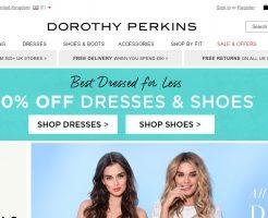 DOROTHY PERKINS ドロシーパーキンスの新作商品、入手困難なアイテム、日本未上陸品、激安品、限定品、お値打ち品、バーゲンセール品、個人輸入、海外通販、代行サービスをイギリスから EG代行