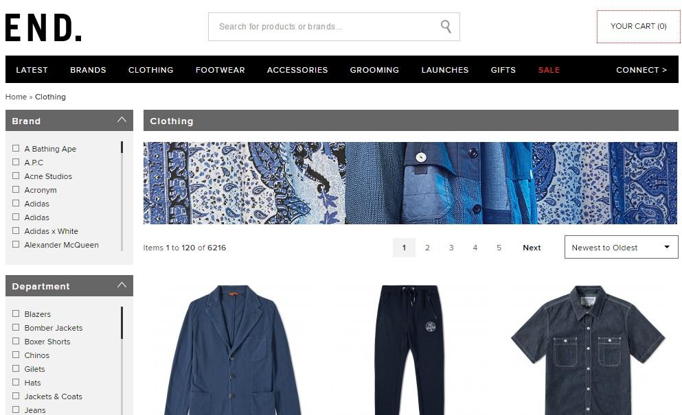 END. CLOTHING エンドクロージングの新作商品、入手困難なアイテム、日本未上陸品、激安品、限定品、お値打ち品、バーゲンセール品、個人輸入、海外通販、代行サービスをイギリスから EG代行