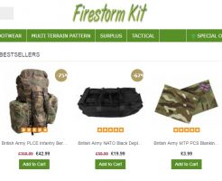 Firestorm Kit ファイアストームキットの新作商品、入手困難なアイテム、日本未上陸品、激安品、限定品、お値打ち品、バーゲンセール品、個人輸入、海外通販、代行サービスをイギリスから EG代行