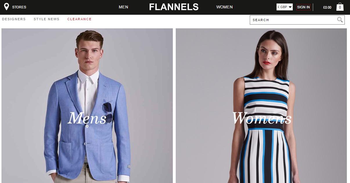 FLANNELS フランネルの新作商品、入手困難なアイテム、日本未上陸品、激安品、限定品、お値打ち品、バーゲンセール品、個人輸入、海外通販、代行サービスをイギリスから EG代行