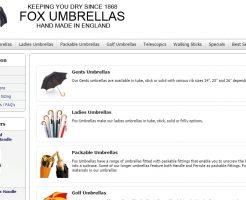FOX UMBRELLAS フォックスアンブレラズの新作商品、入手困難なアイテム、日本未上陸品、激安品、限定品、お値打ち品、バーゲンセール品、個人輸入、海外通販、代行サービスをイギリスから EG代行
