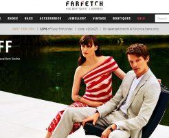 FARFETCH ファーフェッチの新作商品、入手困難なアイテム、日本未上陸品、激安品、限定品、お値打ち品、バーゲンセール品、個人輸入、海外通販、代行サービスをイギリスから EG代行