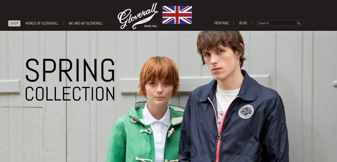 gloverall グローバーオールの新作商品、入手困難なアイテム、日本未上陸品、激安品、限定品、お値打ち品、バーゲンセール品、個人輸入、海外通販、代行サービスをイギリスから EG代行