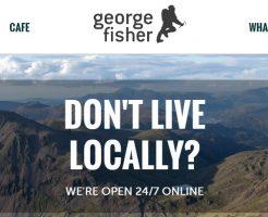 george fisher ジョージフィッシャーの新作商品、入手困難なアイテム、日本未上陸品、激安品、限定品、お値打ち品、バーゲンセール品、個人輸入、海外通販、代行サービスをイギリスから EG代行