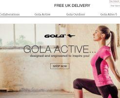 Gola ゴーラの新作商品、入手困難なアイテム、日本未上陸品、激安品、限定品、お値打ち品、バーゲンセール品、個人輸入、海外通販、代行サービスをイギリスから EG代行