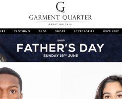 GARMENT QUARTER ガーメントクォーターの新作商品、入手困難なアイテム、日本未上陸品、激安品、限定品、お値打ち品、バーゲンセール品、個人輸入、海外通販、代行サービスをイギリスから EG代行