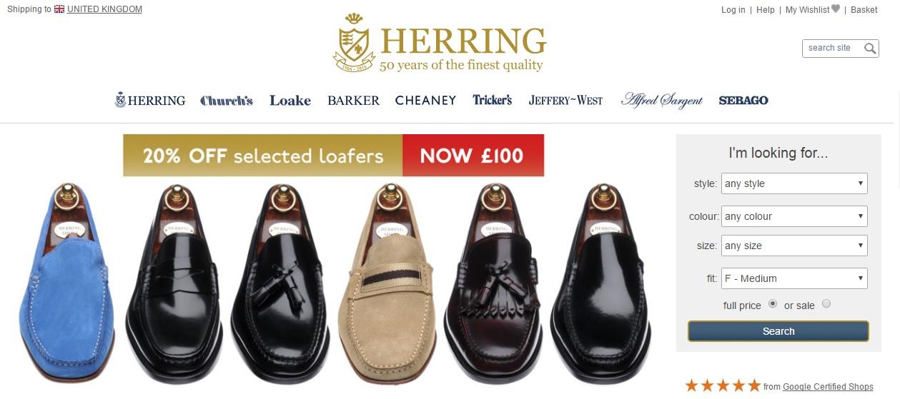 HERRING ヘリングの新作商品、入手困難なアイテム、日本未上陸品、激安品、限定品、お値打ち品、バーゲンセール品、個人輸入、海外通販、代行サービスをイギリスから EG代行