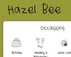 Hazel Bee ヘーゼルビーの新作商品、入手困難なアイテム、日本未上陸品、激安品、限定品、お値打ち品、バーゲンセール品、個人輸入、海外通販、代行サービスをイギリスから EG代行