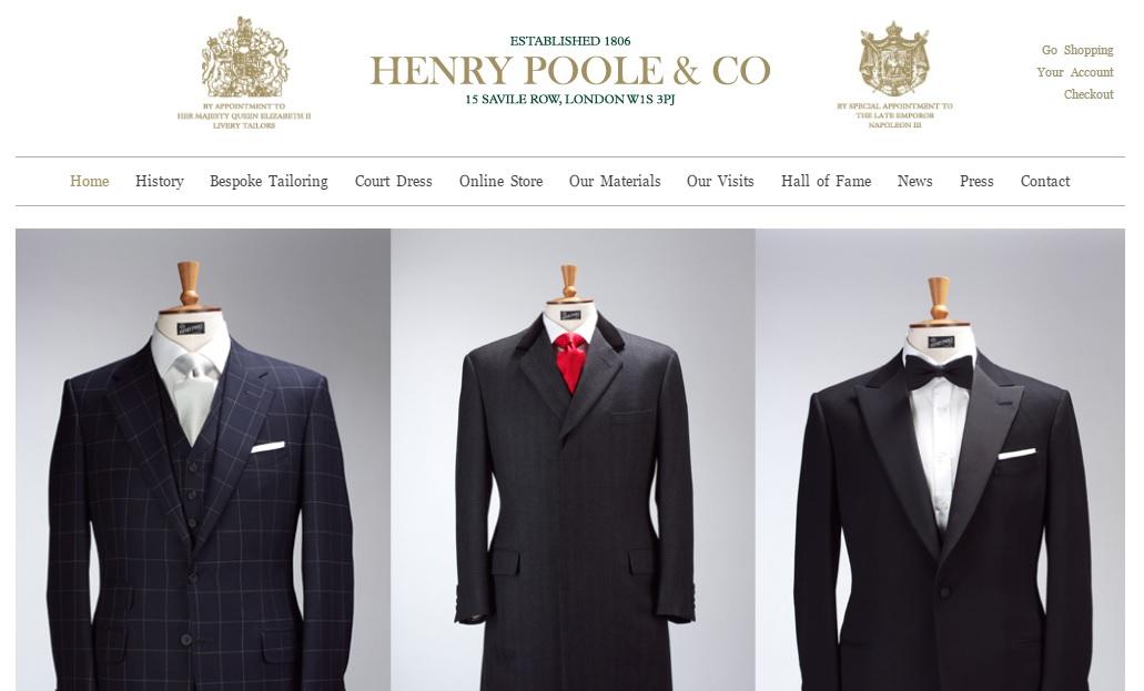HENRY POOLE ヘンリープールの新作商品、入手困難なアイテム、日本未上陸品、激安品、限定品、お値打ち品、バーゲンセール品、個人輸入、海外通販、代行サービスをイギリスから EG代行