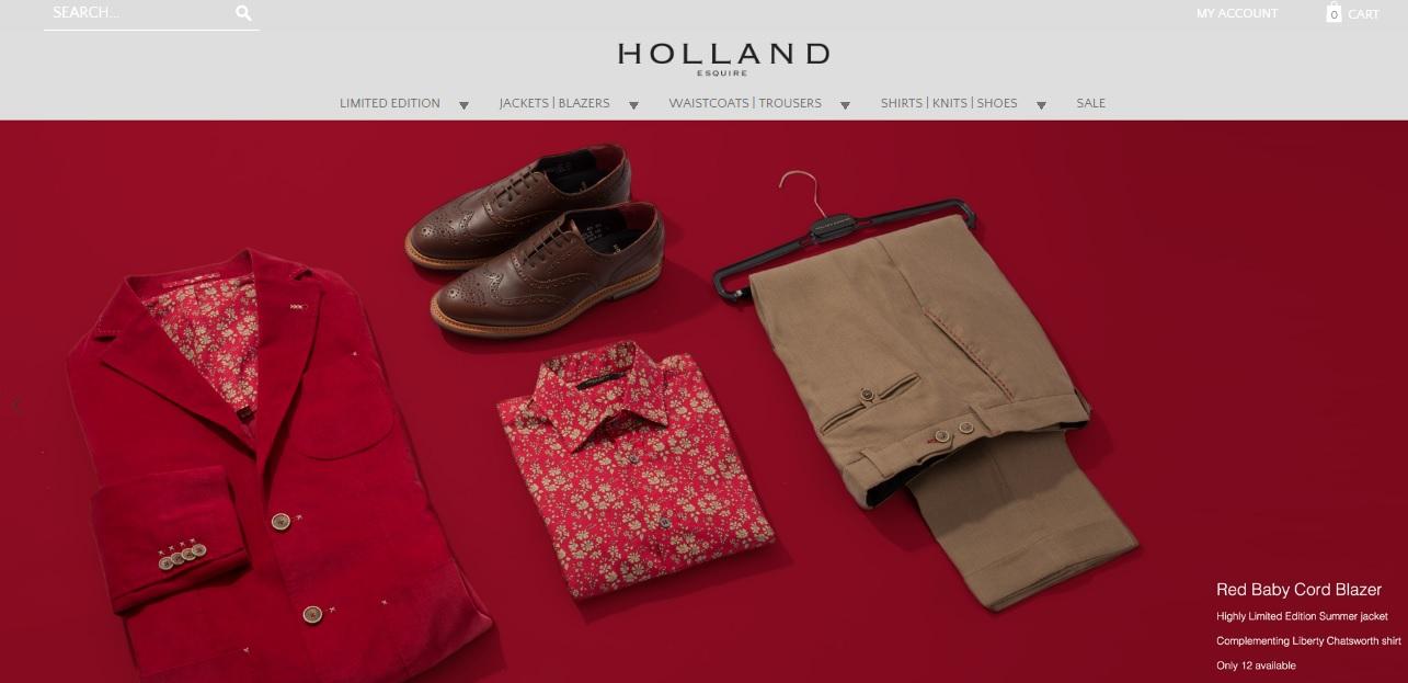 HOLLAND ESQUIRE ホーランドエスクワイアの新作商品、入手困難なアイテム、日本未上陸品、激安品、限定品、お値打ち品、バーゲンセール品、個人輸入、海外通販、代行サービスをイギリスから EG代行