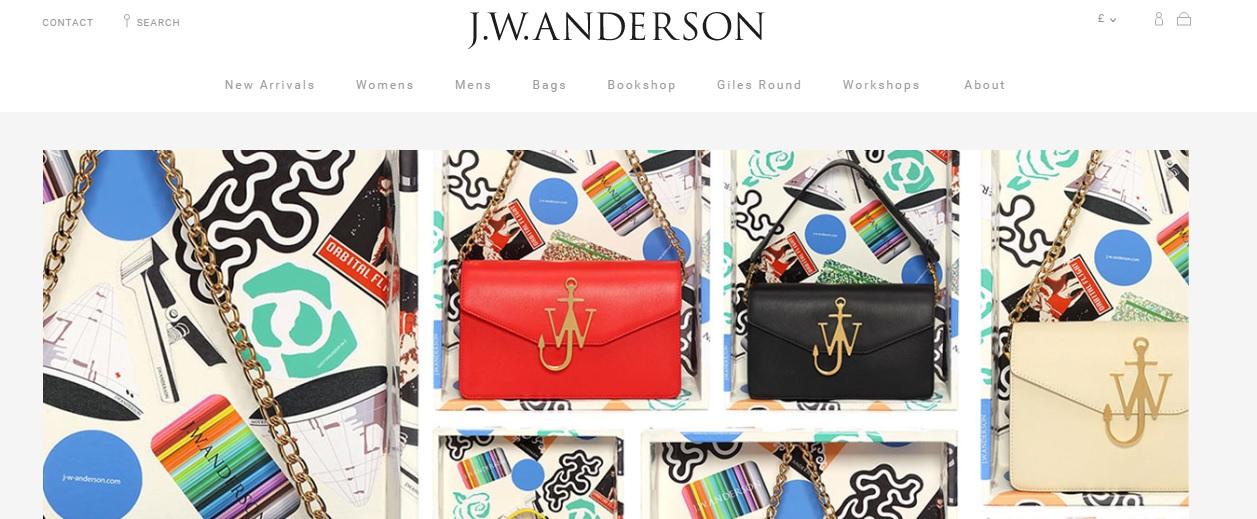J.W.ANDERSON JWアンダーソンの新作商品、入手困難なアイテム、日本未上陸品、激安品、限定品、お値打ち品、バーゲンセール品、個人輸入、海外通販、代行サービスをイギリスから EG代行