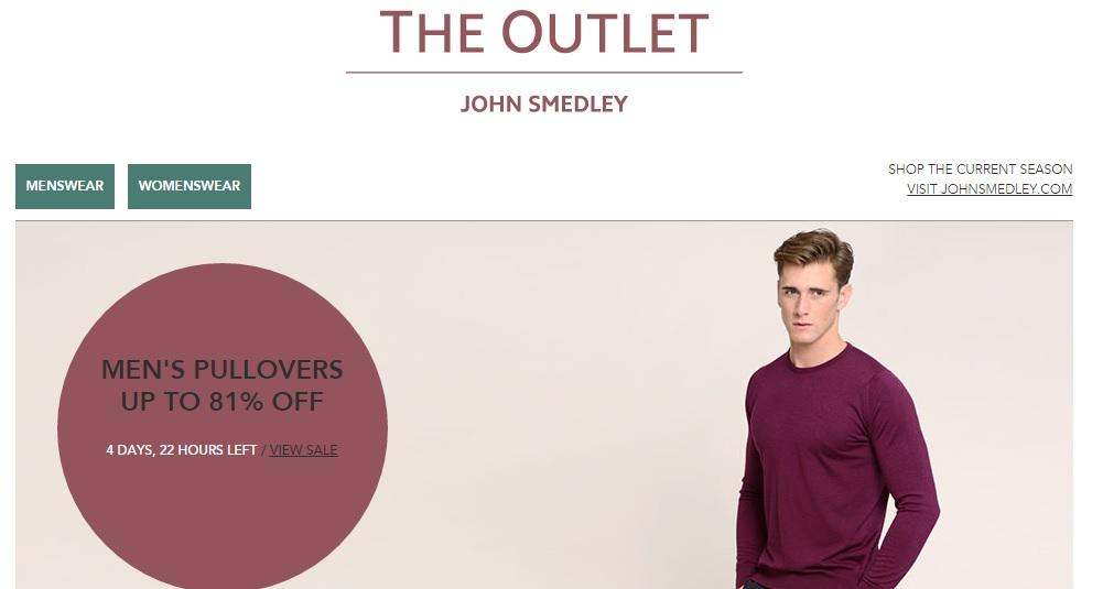 ジョンスメドレーアウトレット JOHN SMEDLEY OUTLETの新作商品、入手困難なアイテム、日本未上陸品、激安品、限定品、お値打ち品、バーゲンセール品、個人輸入、海外通販、代行サービスをイギリスから EG代行
