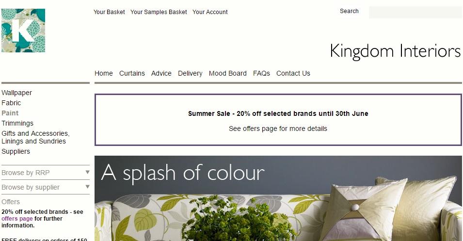 キングダムインテリアズ Kingdom Interiorsの新作商品、入手困難なアイテム、日本未上陸品、激安品、限定品、お値打ち品、バーゲンセール品、個人輸入、海外通販、代行サービスをイギリスから EG代行