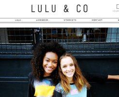 ルルアンドコ LULU & COの新作商品、入手困難なアイテム、日本未上陸品、激安品、限定品、お値打ち品、バーゲンセール品、個人輸入、海外通販、代行サービスをイギリスから EG代行