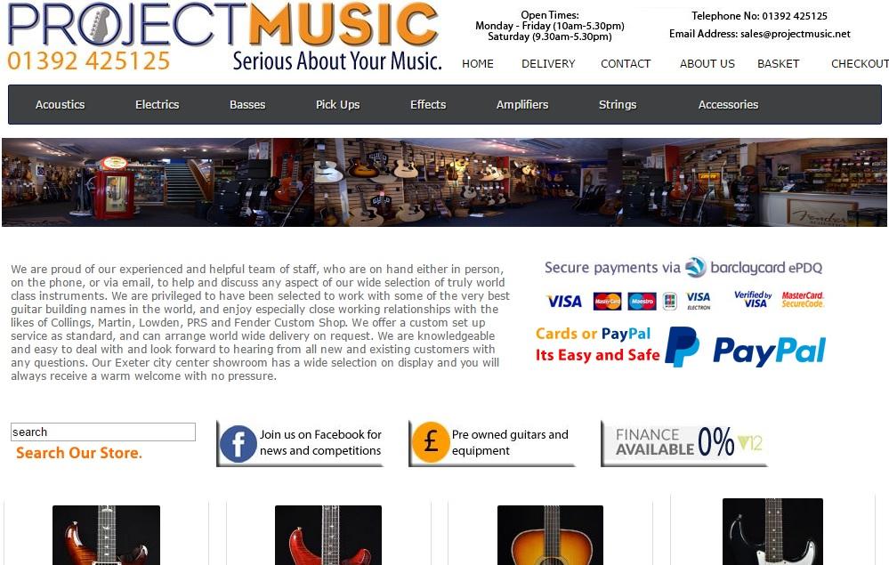プロジェクトミュージック PROJECT MUSICの新作商品、入手困難なアイテム、日本未上陸品、激安品、限定品、お値打ち品、バーゲンセール品、個人輸入、海外通販、代行サービスをイギリスから EG代行
