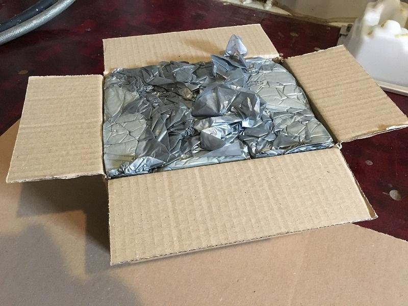 こだわりの梱包 ガラスのジャーをInstapak インスタパックで梱包 12