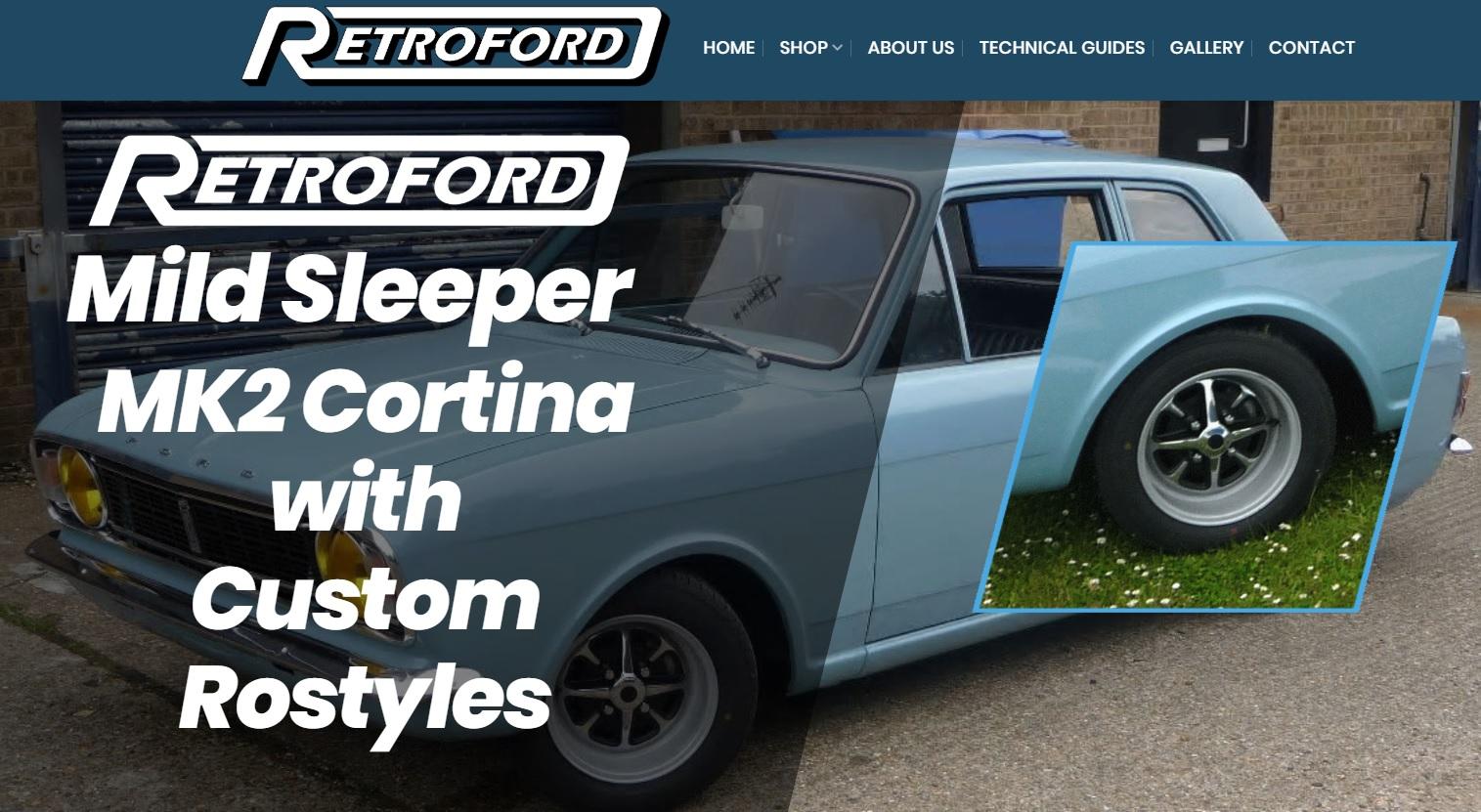 RETROFORD(レトロフォード)はフォードのコルチナ、Duratec(デュラテック)エンジン、Zetec(ゼテック)エンジンなど、旧車用の新品パーツ、日本国内で入手困難な部品を販売するショップです。イギリスの代行サービスはEG代行で