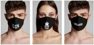 DSQUARED2 ディースクエアード2 フェイスマスク